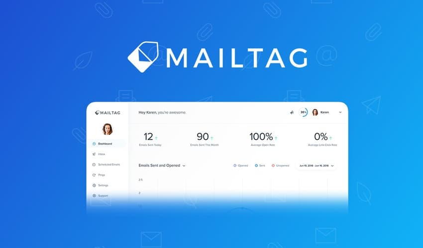 Know exactly where your emails go with Mailtag.