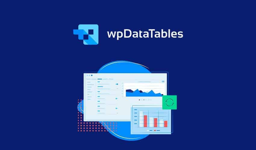 Create responsive tables, graphs, and charts with wpDataTables.