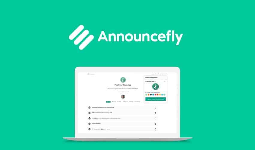 Get direct customer feedback and real-time updates with Announcefly.