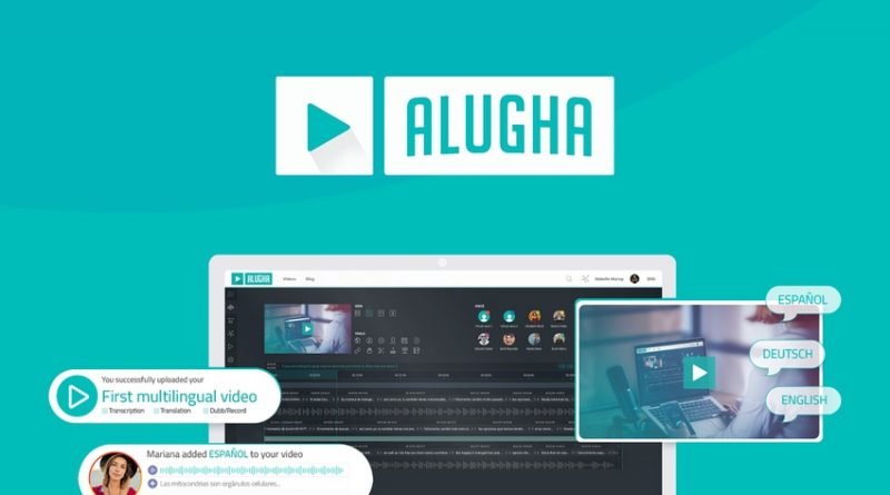 Alugha is a video translation tool that streamlines the production to international audiences.