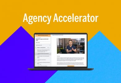 The Agency Accelerator Bundle is a collection of online courses to start an agency